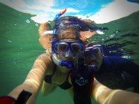 snorkeling dive