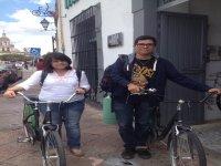 Cominza la aventura en bici