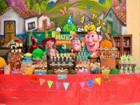 Mesas de dulces decoradas