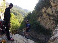 Rappelling in Matacanes