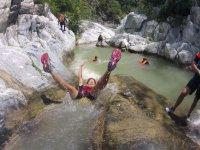 Climbing excursion