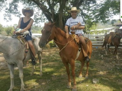 1 hour horseback riding in Puebla