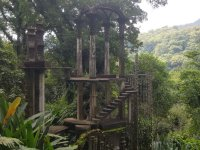 Surrealist sanctuary of Edward James in the tropical forest of Xilitla
