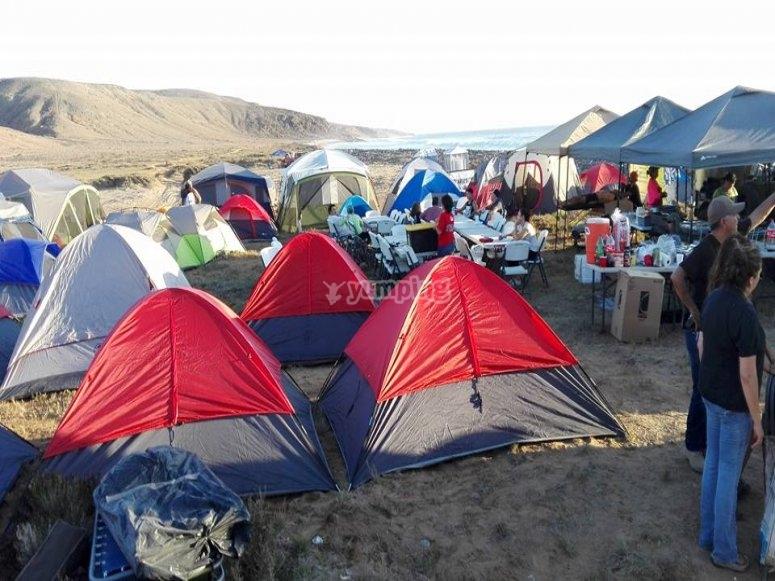 tiendas Camping