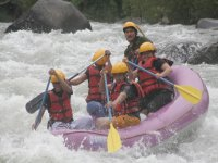 Rafting instructors