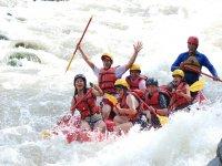 Pura diversion en el rio