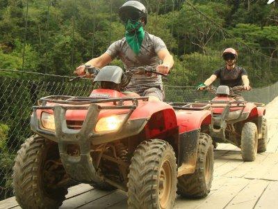 Tour ATV individual a Jorullo Bridge en Jalisco 2h