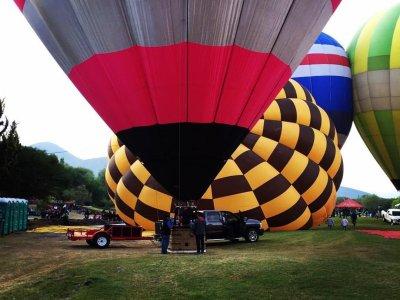Vuelo en globo y ultraligero en Teotihuacan