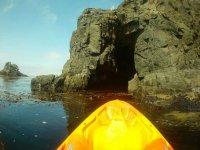 Kayak and Fishing in Baja California Bay