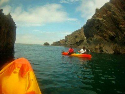 Kayak y pesca con arpón Bahía de Baja California