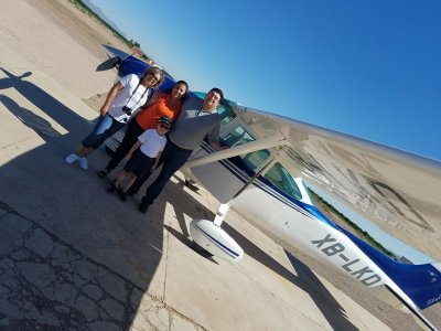 1-Hour Light Aircraft Flight Over Chihuahua Centre