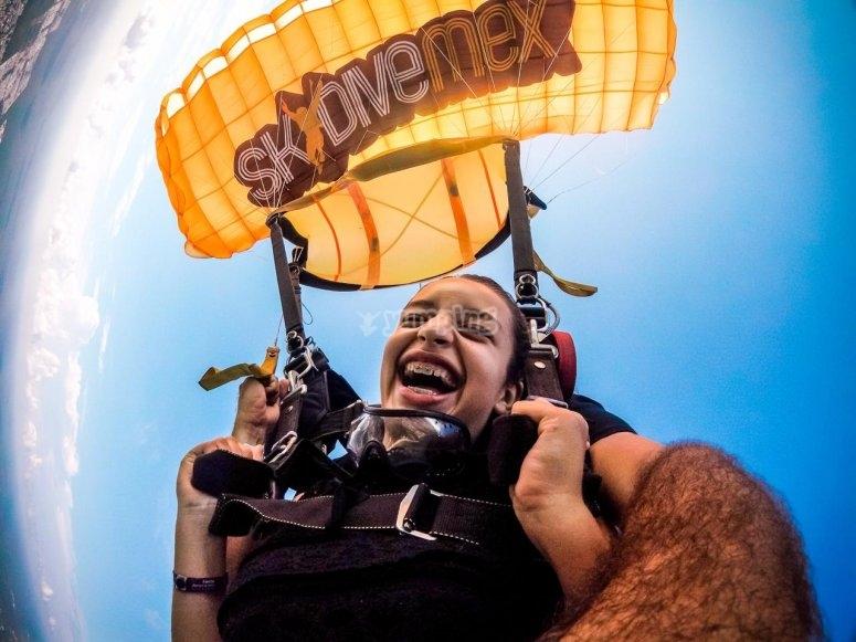 Skydivemex te dara la mejo experiencia