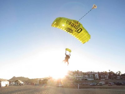 Skydiving in Los Cabos + photos & video