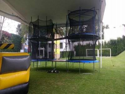 Trampoline for 4 people in CDMX