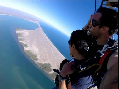 Skydiving in Mazatlan on the 11th of August
