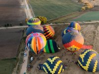 Balloons ready to fly