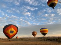 Landscapes with balloons