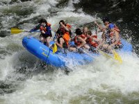 Face challenging water currents