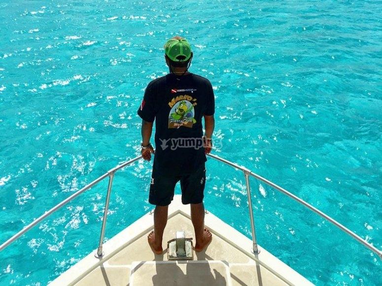 La tranquilidad del mar