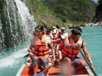 Remando en la Huasteca