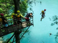 Turquoise waters of the Huasteca