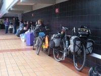 we travel by bike