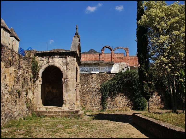 The old convent in Tepoztlan