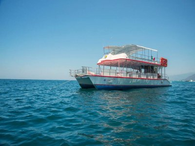 Boat tour  + food+ drinks, kids 6 to 11