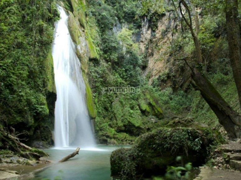El Chuveje waterfall