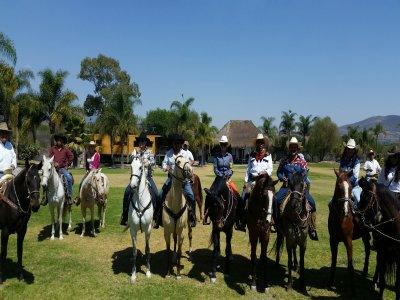 Horse ride, Querétaro, 2 hrs