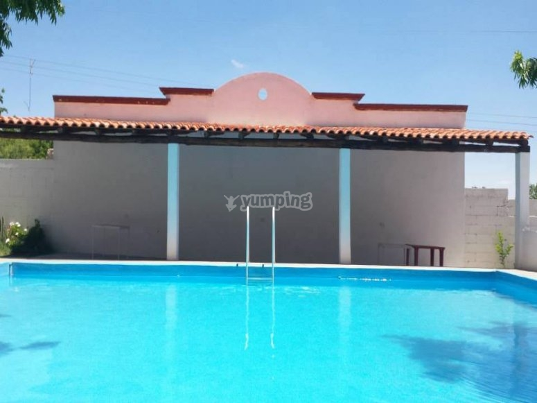 Our big swimming pool