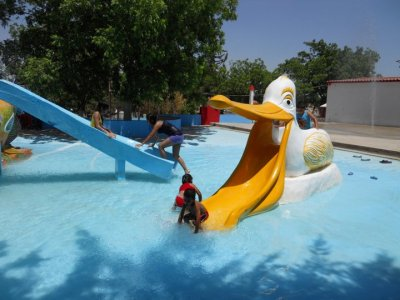 Water Park admission + room for 4 people