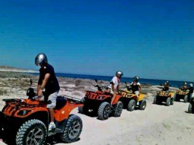 Tour en ATV´s por playa y desierto en La Paz, 2h