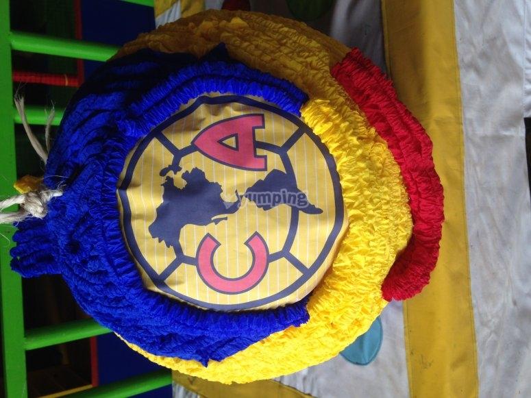 Piñata for the boys