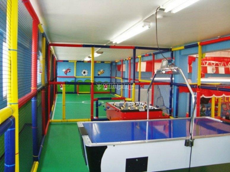 Mesa de hockey aire