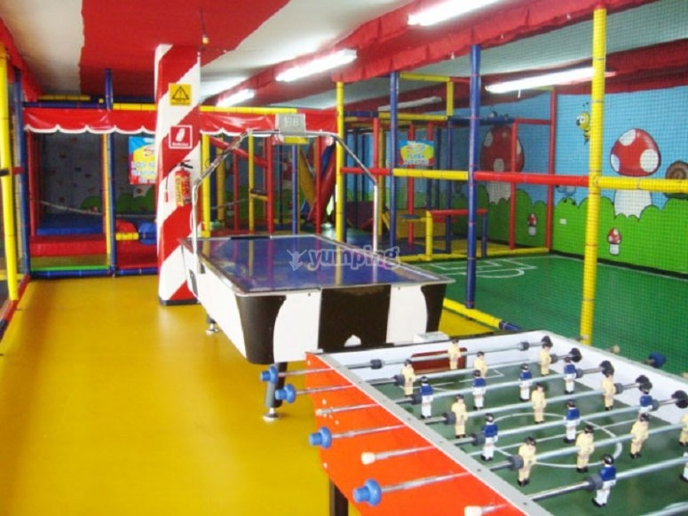 Games tables