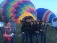 Vuelo en globo para niño en Teotihuacán 1h