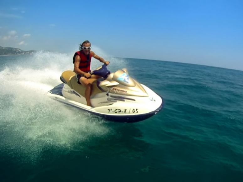 Fun on your jet ski