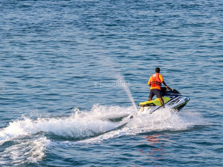 Rent a jet ski with us