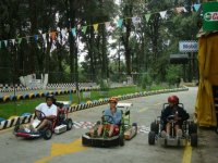 Fun and go kart competition