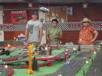 Motorized trolley games
