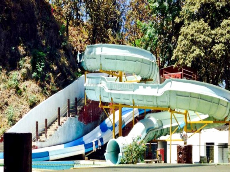 Amazing water slides