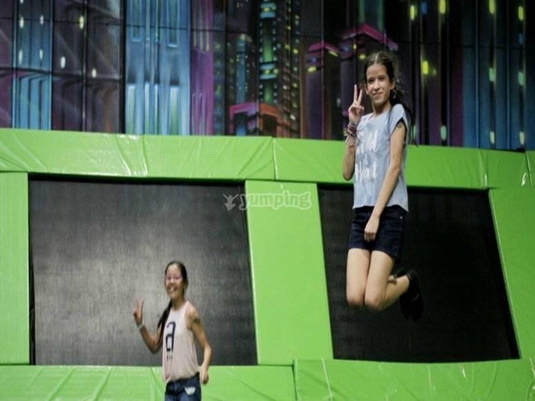 saltos sorprendentes