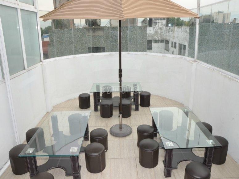 Terraza tipo lounge