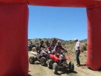 Four-wheeler competition