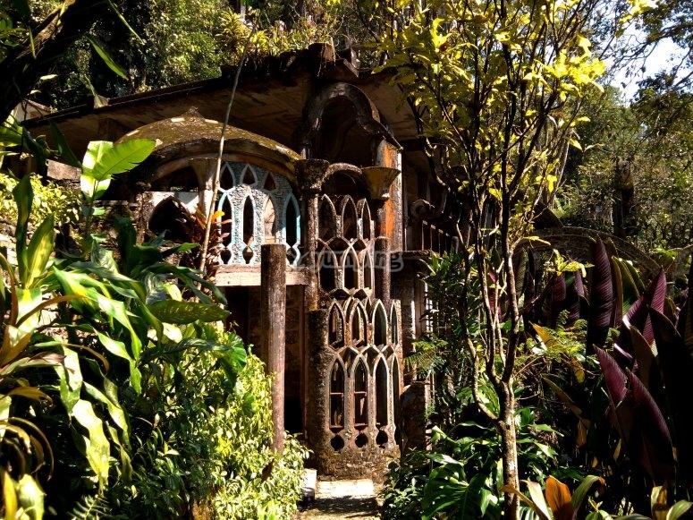 Surrealist garden, Xilitla