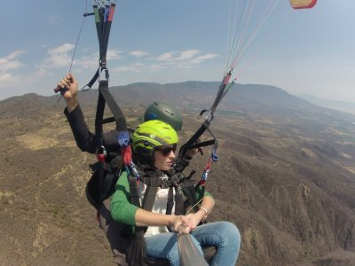 2 Paraglider Flights + Photos, Video Tapalpa
