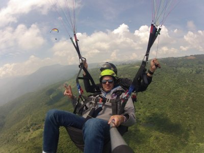 Falcon Paraglider VIP flight in Chapala