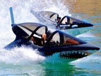 Dos seabreachers en el agua