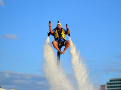 Jetpack flight for 20 minutes at Cancun